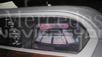 Mercedes w221 Geri Görüş Kamerası