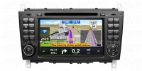 Mercedes-Benz C-Class CLK Avant-2 Full Android GPS Navigasyon System W203