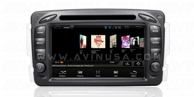 Mercedes-Benz C-Class CLK Avant-2 Full Android GPS Navigasyon System W203 W209 Viano Vito W638